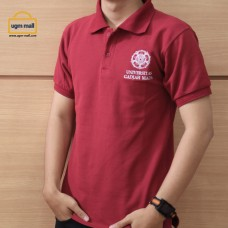 Polo UGM Red Maroon Male